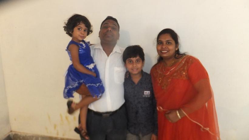 BK Sahu Family